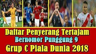 WAJIB TAHU!!! Daftar Penyerang Tajam Bernomor Punggung 9 Di Grup C Piala Dunia 2018