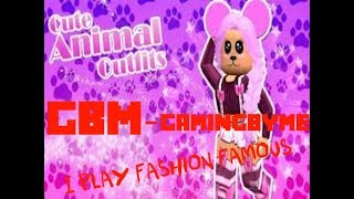 First Video! Playing Fashion Famous (Roblox)!! Enjoy!