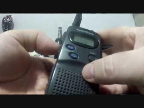 "Family Radio Service ""FRS"" Radio Shack 21-1811 & GE 35810"