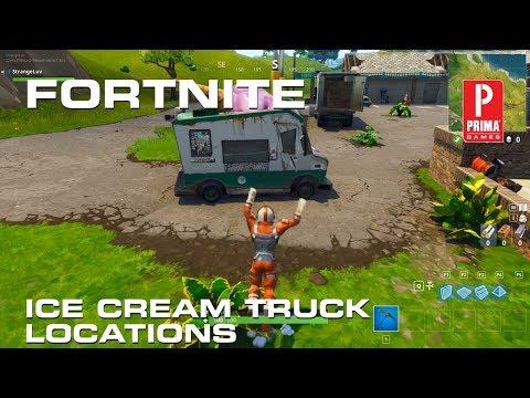 Fortnite - Ice Cream Truck Locations