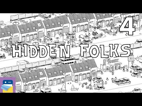 Hidden Folks: iOS iPad Air 2 Gameplay Walkthrough Part 4 (by Adriaan de Jongh)