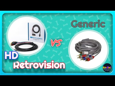 HD Retrovision Wii Component Cables - Playing Wii, N64, And GameCube - Worth It?