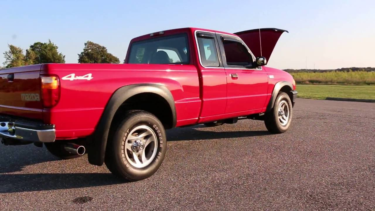 2001 mazda b4000 4x4 extended cab pickup for sale 85k salvage title 3995 [ 1280 x 720 Pixel ]