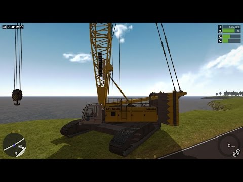 Construction-Simulator 2015 - Liebherr LR 1300 Crawler Crane DLC |
