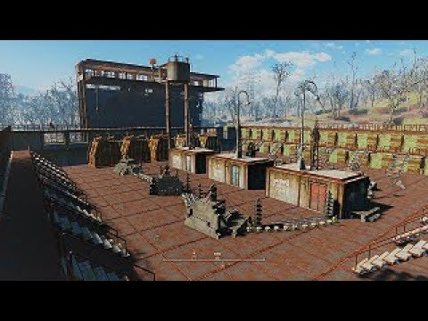 fallout 4 ultimate starlight drive in arena youtube