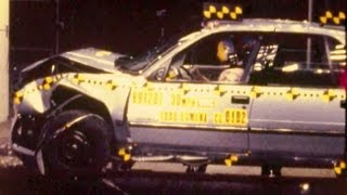 1990 Chevy Lumina | Frontal Crash Test | CrashNet1