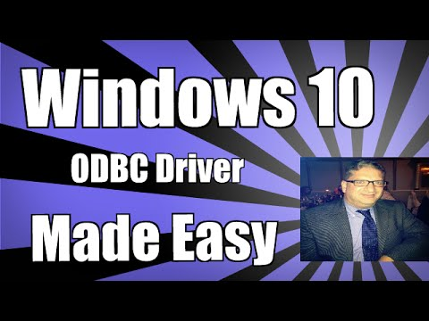Installing an odbc driver in Windows 10 - SQL Server ODBC Driver Excel 2013 2016 Microsoft Access