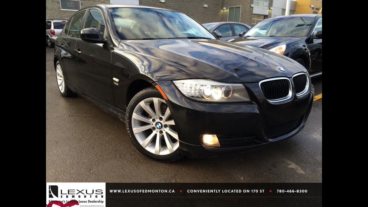 Used Black 2011 BMW 3 Series 328i xDrive AWD Exec Ed ...