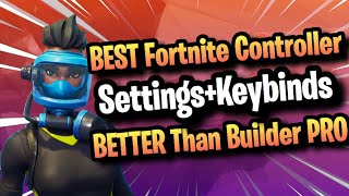*BEST* Controller Settings+Keybinds For PS4/Xbox/PC! NEW Console Edit META! (Fortnite Season 7) ​