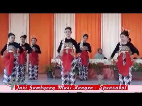 Tari Gambyong Mari Kangen - SMPN 1 Boliyohuto