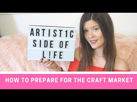 Craft Show Display Ideas – How to Make a Great Craft Market Display