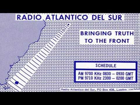 Propaganda Británica durante Malvinas - Radio Atlántico del Sur