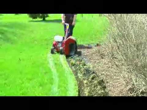 How To Edge A Garden Bed With A Power Edger