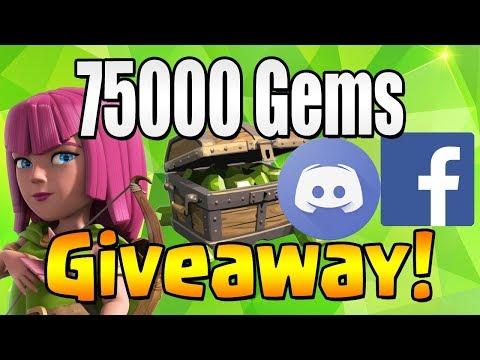 WINNER #5-6 | 75000 GEM Giveaway!  TH12 CELEBRATION | Clash of Clans