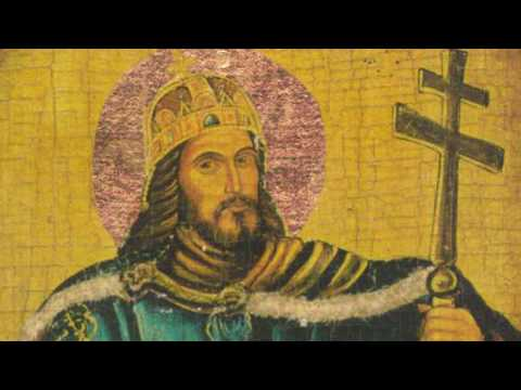 King-Saints Edward the Confessor & Stephen the Great
