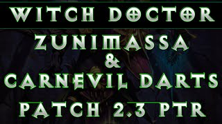 Diablo 3 Witch Doctor - Zuni & Carnevil Build Patch 2.3 Spotlight