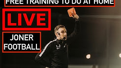FREE TRAINING SESSION TO DO AT HOME | JONER FOOTBALL