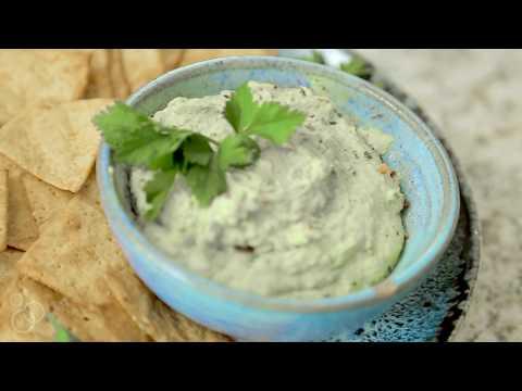 Easy Chimichurri White Bean Hummus