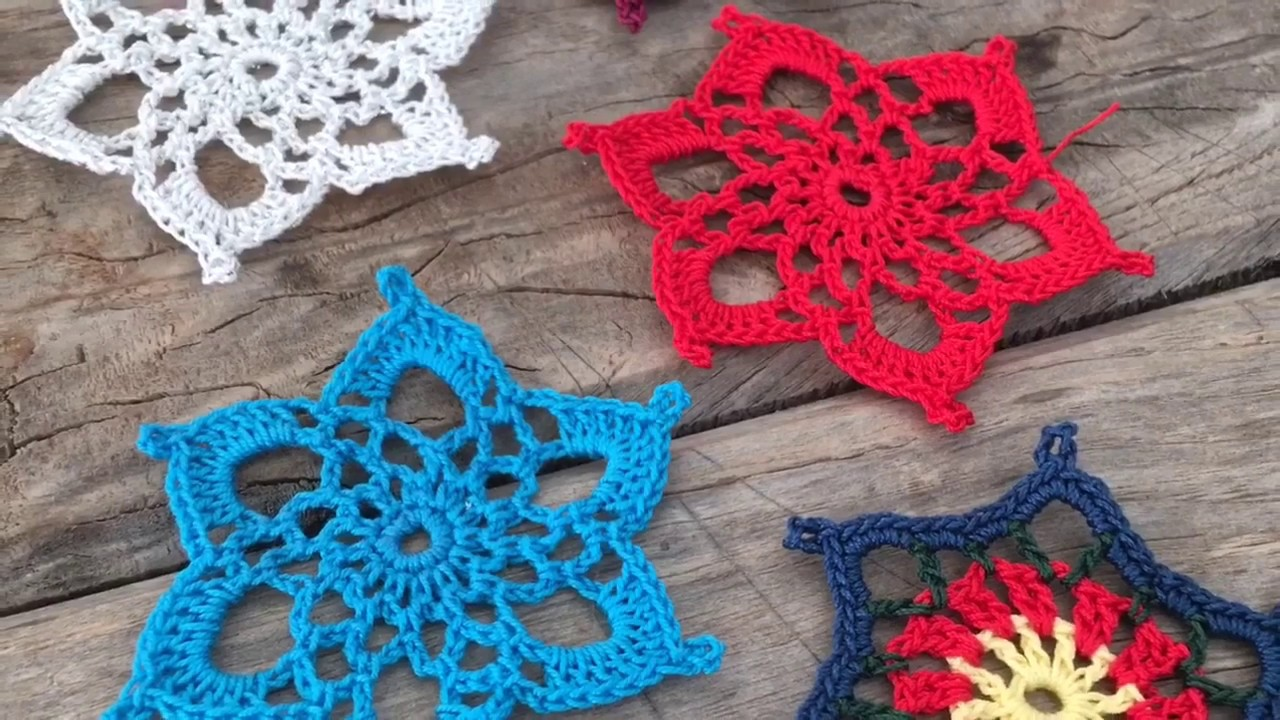 How to Crochet a star | Easy pattern and tutorial