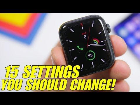 15 Apple Watch Settings You Should CHANGE !