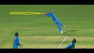 Top 5 Best Catches In Cricket History || Impossible Catches By Indian Players
