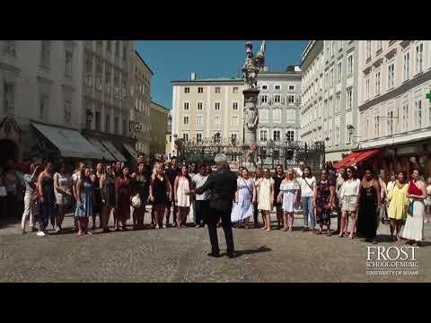 Flashmob in Salzburg