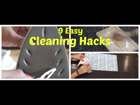 Daily Cleaning Hacks | Home cleaning | Organizopedia