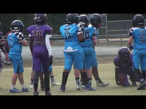 Huntingtown Canes VS Southern MD Hawks - 2019 -  11U - MD Youth Football