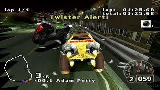 NASCAR Rumble PS1 Gameplay HD (60FPS)
