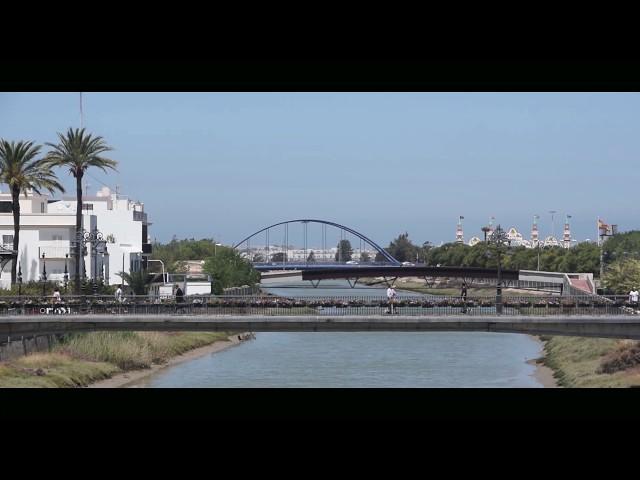 Rio Iro y Alameda del río en Chiclana