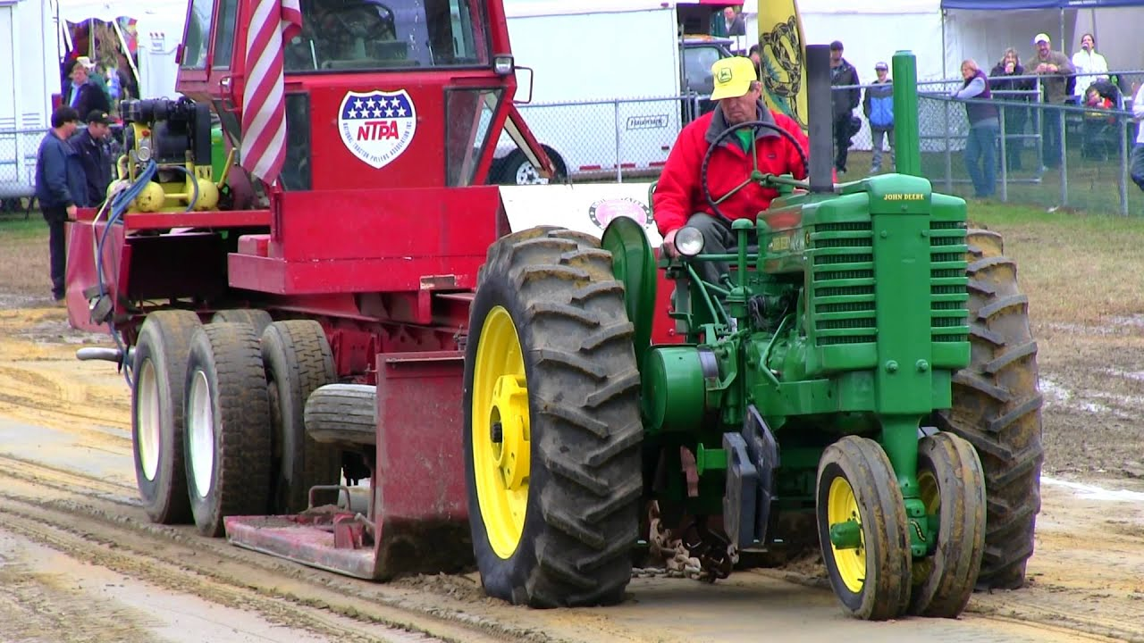 Antique Tractor Pull Deerfield Fair NH 2012