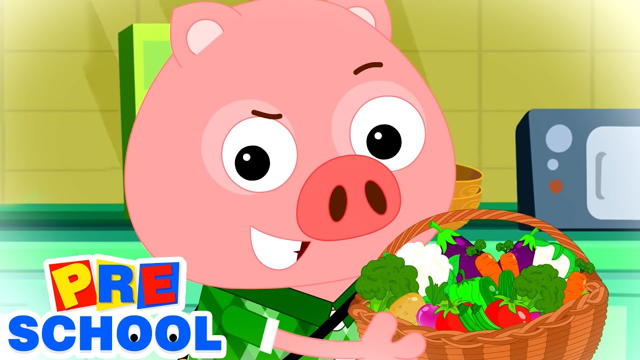 This Little Piggy Went To Market | Nursery Rhymes and Kids Songs for Babies