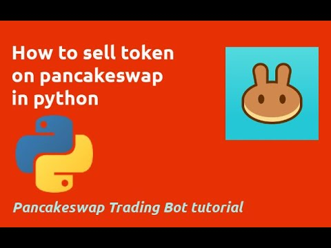 How to Sell Token on Pancakeswap in Python
