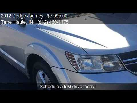 2012 Dodge Journey SXT AWD 4dr SUV for sale in Terre Haute,