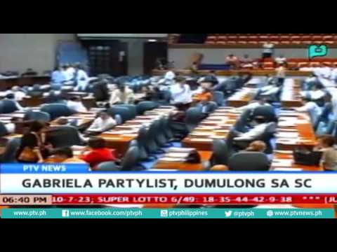 [PTVNEWS-6pm] Gabriela partylist, dumulong sa SC [07|11|16]