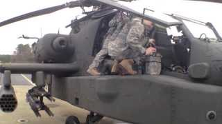 NC National Guard Apache helicopters at RDU