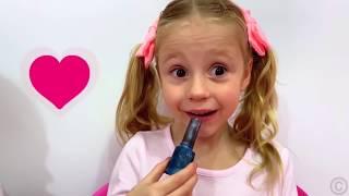 Nastya y papá Colección de nuevas historias para niños sobredulces y caramelos