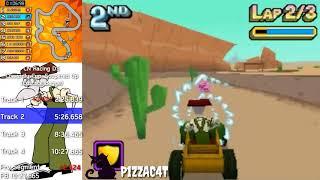 Cartoon Network Yarışı Korkak DS Kupası Soupered Kadar, 10 25.845 Eustace: