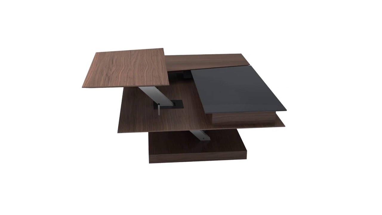 BoConcept - Barcelona functional coffee table - YouTube