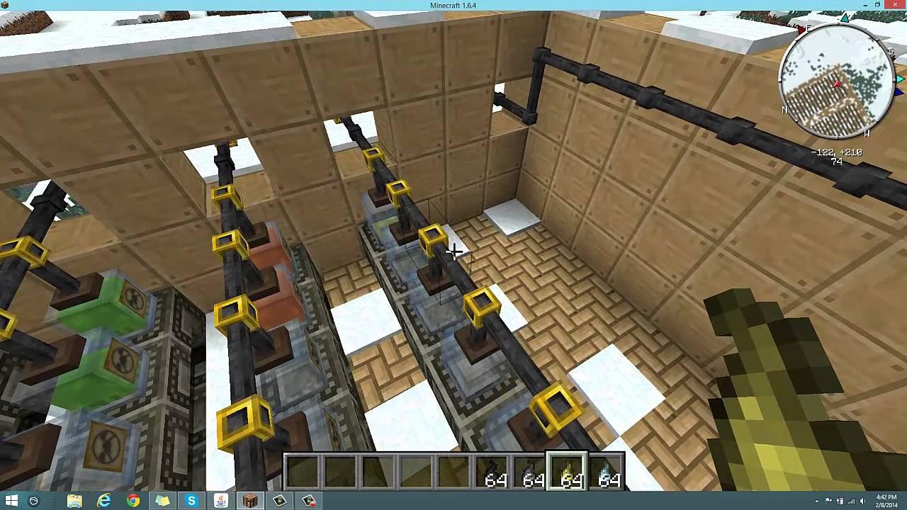 Thaumcraft 4 Efficient Essence Pipe Farm