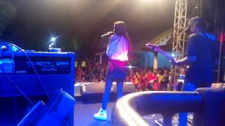Aku cah kerjo - Hana Monina The Rosta Live Jabang Kras Kediri 2017 #FaskhoAudio BackStage
