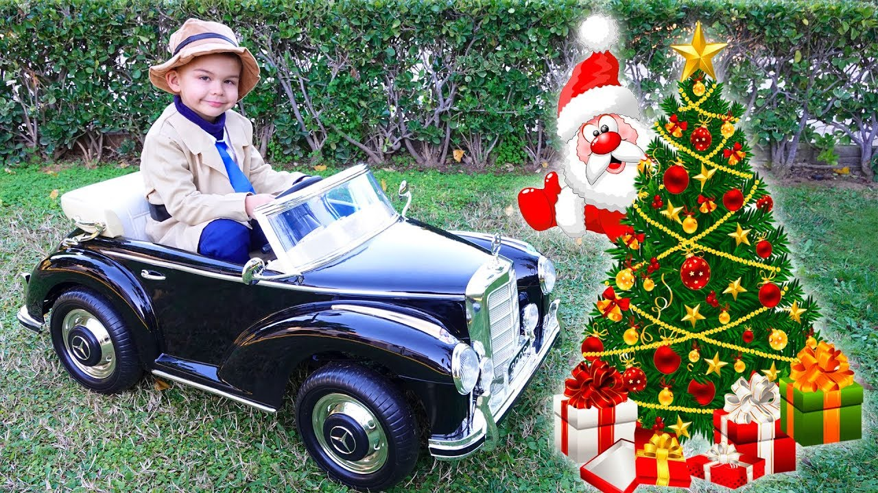 Christmas present for Dima - power wheels Mercedes 300 S