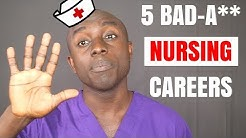 5 NURSING CAREERS YOU DIDN'T KNOW EXISTED