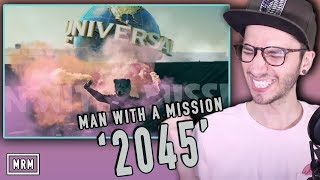 """Today I react to """"2045"""" by MAN WITH A MISSION off their new album """"..."""