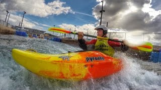 Cardiff Whitewater Kayak Clinics