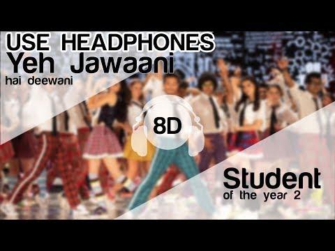 The Jawaani Song 8D Audio Song - Student Of The Year 2 ( Tiger Shroff | Vishal & Shekhar)