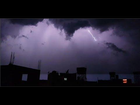 مطر و برق ورعد صباح اليوم مع قرآن الفجر روعة Youtube
