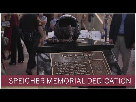 FSU unveils memorial in honor of U.S. Navy hero Scott Speicher