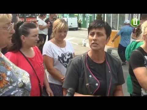 Поділля-центр: Приватні підприємці «Дубово» перекрили вулицю Купріна в Хмельницькому