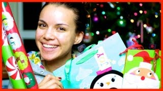 Gift Wrapping Supplies + Presents for Friends! ❄ Vlogmas 13, 2012